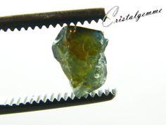 Cristal de saphir vert