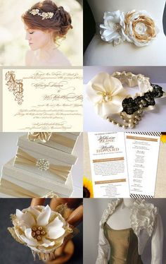 Gold, Glamour and Glitz | An Etsy Wedding Team Treasury -- Pinned with TreasuryPin.com