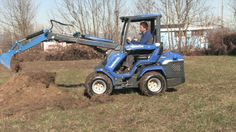 Mini pelle avec MultiOne 7.3 Lawn Mower, Tractors, Outdoor Power Equipment, Free Time, Hobbies, Bricolage, Lawn Edger