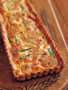 Recipe : Asparagus and Apricot Quiche/アスパラガスとアプリコットのキッシュ Gourmet Cooking, Gourmet Recipes, Savory Tart, Dried Fruit, Junk Food, Japanese Food, Lasagna, Asparagus, Breakfast Recipes