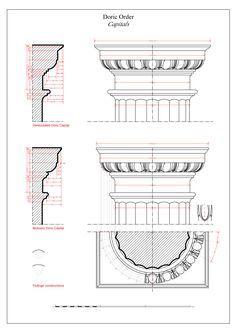Doric Order - Capitals