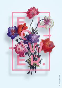Series of illustrations «Flower» | Alexander Gusakov