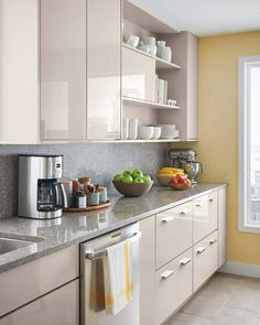 home depot select kitchen style beige cabinets - Beige kitchen - GS Home Kitchen Room Design, Kitchen Cabinet Design, Home Decor Kitchen, Interior Design Kitchen, New Kitchen, Kitchen Modern, Kitchen Ideas, Scandinavian Kitchen, Awesome Kitchen
