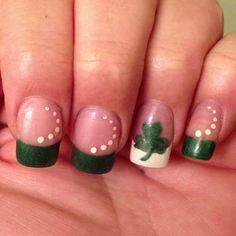St. Paddys Nails!!!!
