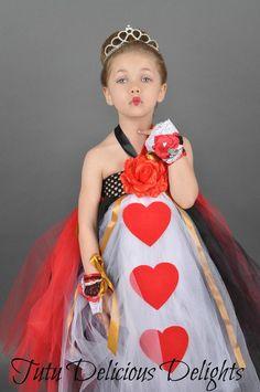 Reina de corazones Tutu vestido Alicia en por TutuDeliciousDelight