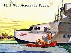 Pan Am China Clipper poster