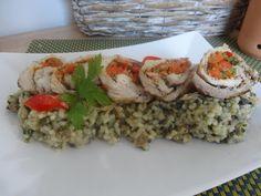 Czary w kuchni- prosto, smacznie, spektakularnie.: Roladki z grilowaną papryką Grains, Rice, Food, Essen, Meals, Seeds, Yemek, Laughter, Jim Rice