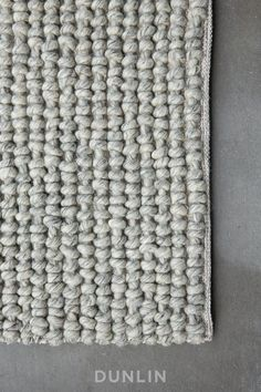 NODI Noughts Weave in Marl Grey