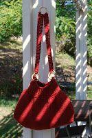 The Laughing Willow: Aspen Bag - free Tunisian bag pattern!