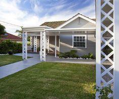 love this design Garage Doors, Deck, Exterior, Windows, Patio, Facades, Outdoor Decor, Colour, Design