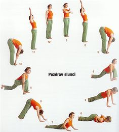 pozdrav slunci Yoga Gym, Yoga Fitness, Health Fitness, Yoga Flow, Natural Medicine, How To Do Yoga, Yoga Teacher, Back Pain, Fit Women