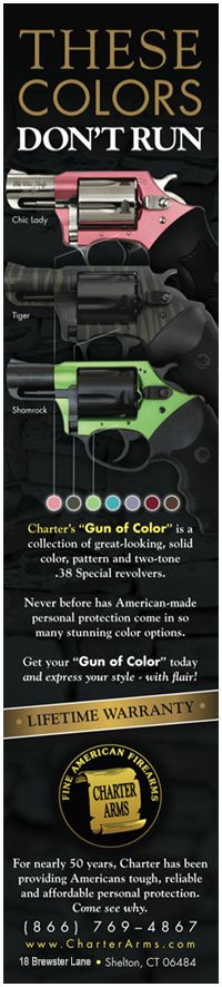 Welcome to Charter Arms! Are you ready for a .38 Special that's extra classy? http://online.newriversports.com/product.charter-arms-53823-undercover-lite-38-special-2-5rd-black-rubber-grip-redss