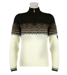 Dale of Norway St. Moritz Sweater Women's (Off-white / Erde / Bl