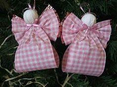 Ribbon Angels | Christmas | Pinterest