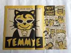 ヤフオク! - CREAM SODA クリームソーダ ピンクドラゴン ブラ... Cream Soda, Auction, Dots, Let It Be, Character, Design, Stitches, Lettering