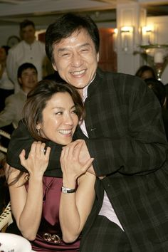Jackie Chan And Michelle Yeoh Michelle Yeoh Loretta Lee Kung Fu Martial Arts