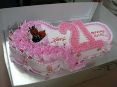The Big Moment Key Shaped Cake Pink And White So Pretty Cakepins Com