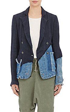 Double-Breasted Jacket Greg Lauren Barney's