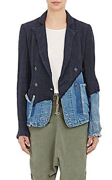 Double-Breasted Jacket Greg Lauren Barney's