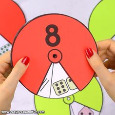 Teach number sense with this set of printable number spinners. videos Printable Number Spinners 1 to 20 - Number Sense - Easy Peasy and Fun Fun Math Activities, Preschool Learning, Preschool Activities, Math For Kids, Crafts For Kids, Number Spinner, Printable Numbers, Printable Alphabet, Alphabet Soup