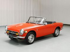 1969 Honda S 800 Convertible Classic Japanese Cars, Classic Cars, Soichiro Honda, Automobile, Honda Motors, Japan Cars, Convertible, Small Cars, Honda Shadow