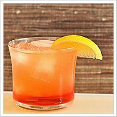Campari-Limoncello Spritzer. campari + limoncello + orange juice ...