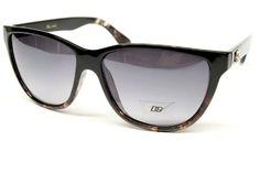 ($9.95) Dg Eyewear Vintage Wayfarer Sunglasses Womens Black - Tort D751 From DG Eyewear