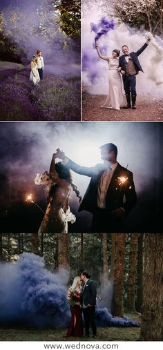Purple wedding smoke bombs sweet bridal and broom with purple smoke best wedding… You do not want to miss your wedding ideas? trends smoke bombs wedding smoke send out Wiccan Wedding, Viking Wedding, Gothic Wedding, Wedding Send Off, Wedding Themes, Wedding Pictures, Perfect Wedding, Dream Wedding, Wedding Fotos
