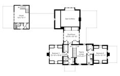 upstairs to interesting layout