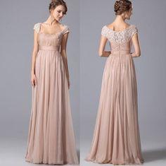 Rochii de ocazie crem lunga cu dantela Bridesmaid Dresses, Prom Dresses, Formal Dresses, Wedding Dresses, Nasa, Fashion, Bridesmade Dresses, Dresses For Formal, Bride Dresses