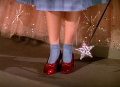 Wizard of Oz shoes.