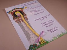 Let Down Your HairCustomized Rapunzel Princess by TeaPartyDesigns. $14.00, via Etsy.