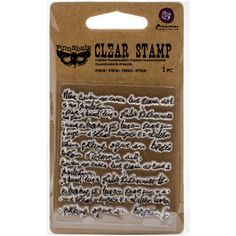 "Finnabair Clear Stamp 2.5""X3"": Messy (961893) - CS450"