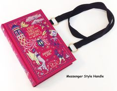 Fairy Tales Book Purse  Blue Fairy Book Cover by NovelCreations, $58.00