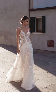 Courtesy of Gali Karten Wedding Dresses; www.galikarten.com; Wedding dress idea.
