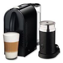 Nespresso + Aeroccino Magimix Espressomachine U M130 - Zwart