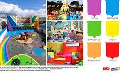 Ruang Bermain Anak ala Taman Hiburan #Future #Color http://matarampaint.com/detailNews.php?n=147