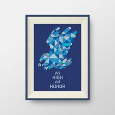 House Arryn. Game of Thrones cross stitch pattern, PDF counted cross stitch pattern, P147 by NataliNeedlework on Etsy