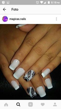 Almond Nails, Nail Designs, Lily, Nail Art, Makeup, Beauty, Nail Arts, Nail Bling, Designed Nails