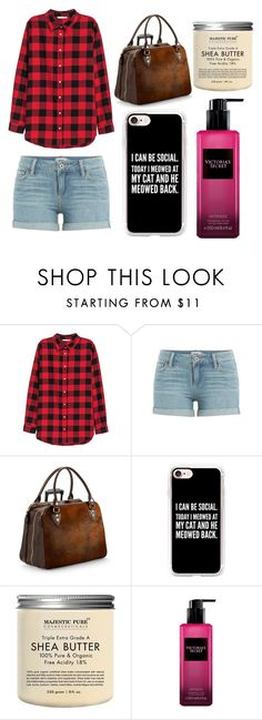 """""""He Tells You He Likes You: Stiles"""" by scarletpeak ❤ liked on Polyvore featuring Paige Denim, Aspinal of London, Casetify and Victoria's Secret"""