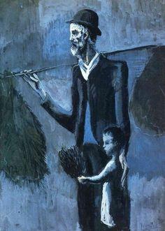 Pablo Picasso, blue period works (1901-1904) 3