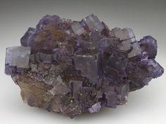 FLUORITE Minerals from Denton Mine, Hardin Co., Illinois, USA, North America at Crystal Classics