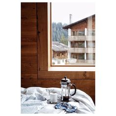 ...M O R N I N G... Coffee ☕️ .   #Laax 👀   #morningview #coffeemug