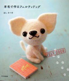 Needle Felting Puppies Japanese Craft Book