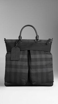 Beat Check Tote Bag | Burberry.