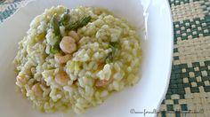 risotto asparagi e gamberetti di Therese Caruana