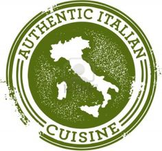 Classic Authentic Italian Food Stamp Stock Photo - 11830282
