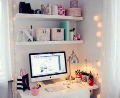 Inspirações para um home office fofinho