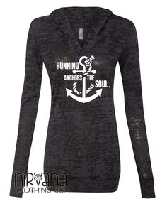 Running Anchors the Soul with arm Anchor