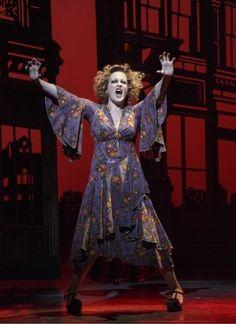 Katie Finneran as Ms. Hannigan in the 2012 Annie Broadway Revival